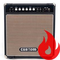 Amw Custom Eb-50 . Cubo Amplificador De Baixo 12