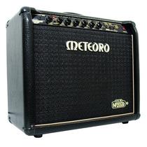 Amplificador Meteoro Guitarra Nitrous Gs100 Com Foot