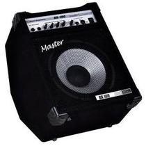 Amplificador Contra Baixo Master Bx100 Na Studio Som João !!