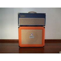 Cabeçote Laney E Gabinete Orange De Guitarra