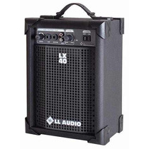 Caixa Amplicada Multiuso Lx40 Ent. Microfone Auxiliar