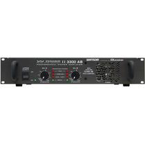 Amplificador Potência Prof. Ciclotron W Power I I 3300 Ab