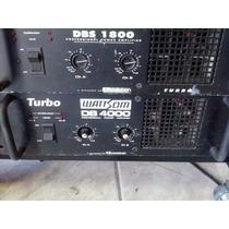 Amplificador De Potência Wattson Db 4000