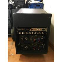 Kit 3 Potências Processador Rack Completo Plug And Play