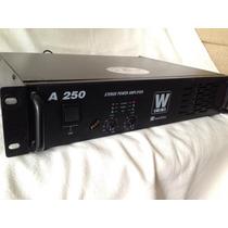 Amplificador Power W Vox Machine A 250