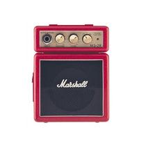 Amplificador Marshall Ms2r Mini Vermelho 1w Guitarra 7826