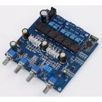Placa Amplificador 3 Canais + Bluetooth 200w Rms