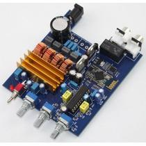 Placa Amplificador Digital 2 Canais Bluetooth + Rca