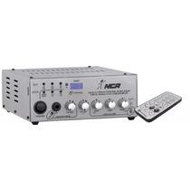 Receiver Amplificador Ll Áudio Nca Ab 100 Fm Usb - Som Amb.
