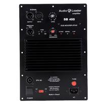 Amplificador Audio Leader Sb400 Com Crossover Para Subgrave