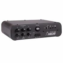 Amplificador Compacto Nca Ab100usb Com 100 Watts E Usb