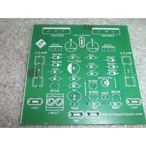 Placa Para Montagem-amplificador,2sc5200/2sa1943 Tip35/tip36