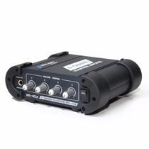Sjuros Amplificador De Fones Profissional Ha-40x Robusto