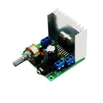 Módulo Painel Digital Audio Amplificador Tda7297 Versão B