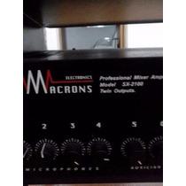 Potência Mixer Macrons Modelo Sx-2100