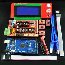 1.4 As Rampas Controlador 2004 Lcd + R3 + 4pcs Mega2560 A498