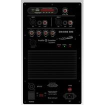 Amplificador Audio Leader Ativador Caixa De Som Cmusb 400