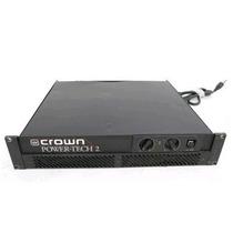 Amplificador De Potencia Estereo Crown Pt-2 - 02 Canais