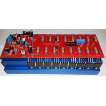 Amplificador De Audio 1200w Classe Ab 2 Ohms Placa Montada
