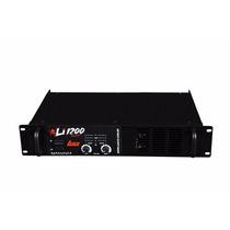 Amplificador De Potência Som 300 Watts 4 Ohms Leacs Li 1200