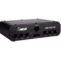 Amplificador Nca Ab100st Música Som Ambiente Estéreo Pc Note