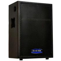 Caixa Som Ativa Stereo Ms12a Soundbox Com Capa De Proteção