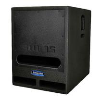 Caixa Som Sw 15 Passiva Soundbox Com Capa De Proteção