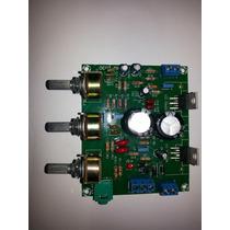 Placa Amplificador Estereo Completa C/ Fonte