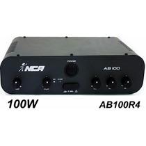 Amplificador De Mesa Compacto Nca - Ab100 R4 - 100w
