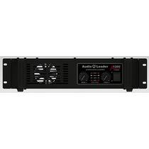 Amplificador Áudio Leader Al1200 1200 W Rms 4 Ohms