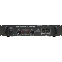 Amplificador Wattsom, Modelo W Power Ii 6800 Ab