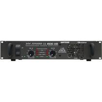 Amplificador Wattsom, Modelo W Power Ii 4500 Ab