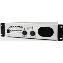 Amplificador Potencia Profissional 1.500w Rms + Frete Grátis