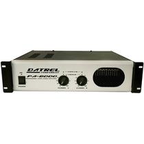 Amplificador De Potencia Profissional - 800w Rms - Pa8000