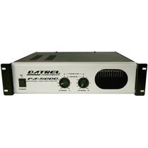 Amplificador De Potencia Profissional - 600w Rms - Pa5000