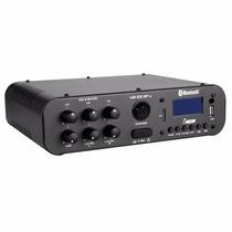 Amplificador Compacto Nca Ab100btst Com 60 Watts Usb Sd Fm