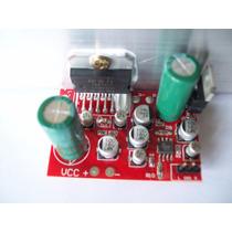 Placa Amplificador Tda7377 35w+35w Rms Com Pré Opam