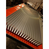 Dissipador Aluminio Perfil P/ Montagem Amplificadores 3000w