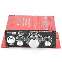 Mini Amplificador Kinter Ma-170 + Cabo Rca + Fonte 12v