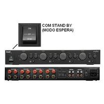 Amplificador De Potência Loud Apl 850 400watts Rms - 4 Zonas