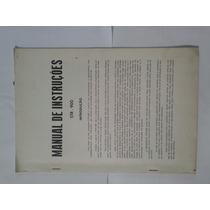 Manual Original Amplificador Gradiente Str900