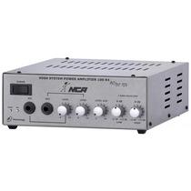 Amplificador Compacto Som Ambiente Nca Ab 100 R4 100 Watts