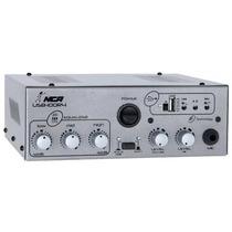 Amplificador Compacto Nca Usb100 St Com 100 Watts E Usb