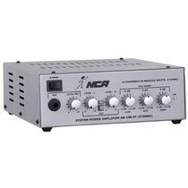 Amplificador Compacto Som Ambiente Nca Ab100 St 60 Watts