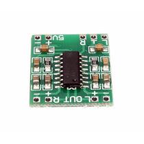 3 Pçs Do Mini Amplificador De Som Estéreo- 2 X 3 W Rms