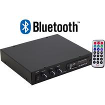 Amplificador Som Ambiente 1200 Com Controle + Bluetooth Nf-e