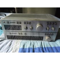 Amplificador Gradiente Model 166 +turner Gradiente Modelo L9