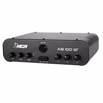 Amplificador Compacto Som Ambiente Nca Ab100st 60 Watts