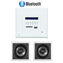 Kit Amplificador De Parede Loud Lac Lx Bt + 1 Par Sq6-100