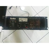 Amplificador De Potencia Db 3000 Wattson